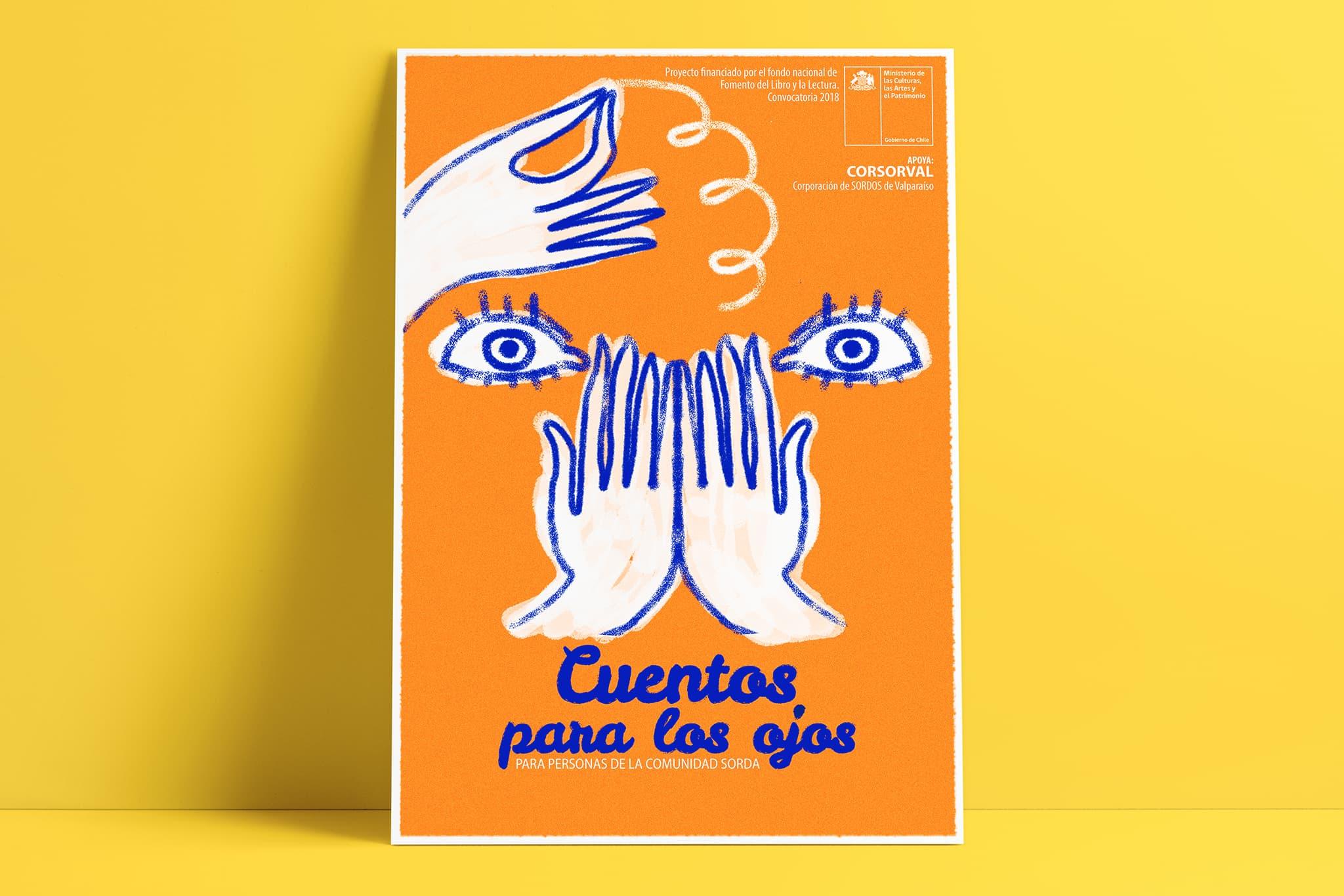 afiche cuentos para los ojos - Portafolio