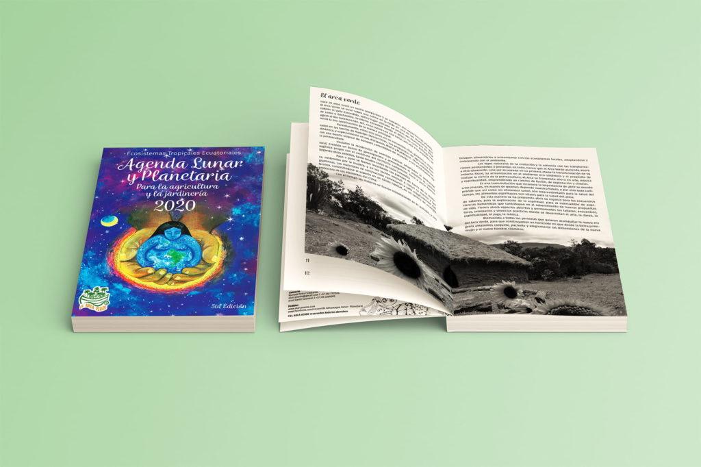 diseno ilustracion Libro agenda el arca verde michael contreras cortes 1024x682 - Agenda libro: Diseño, dirección de arte e ilustración