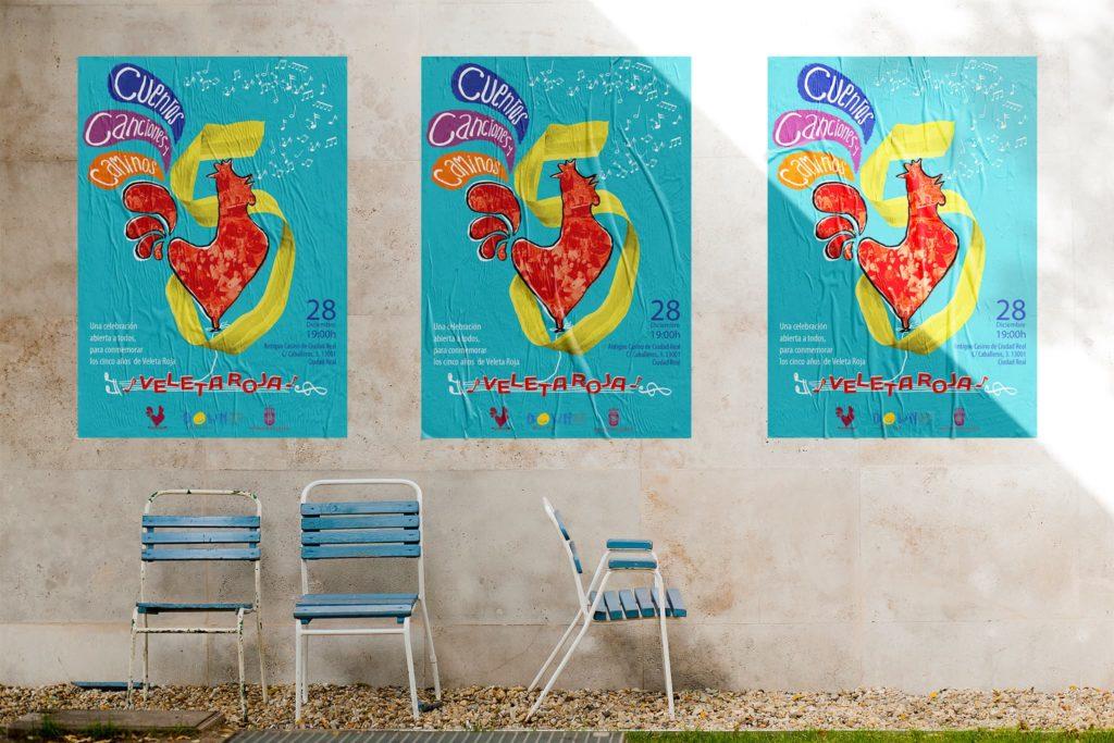 afiche veleta roja 1024x683 - Afiches carteles diversos