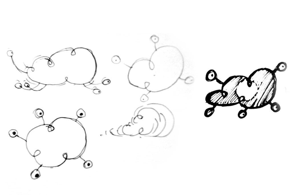 bocetos imaginarios movimiento 1024x684 - Rediseño identidad visual de Imaginarios