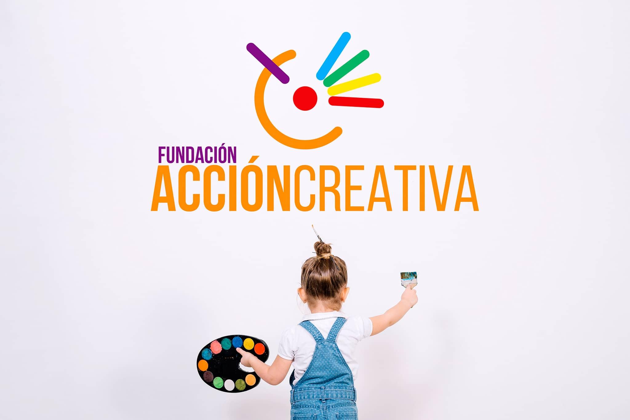 diseno marca logo fundacion accion creativa michael contreras cortes - Portafolio