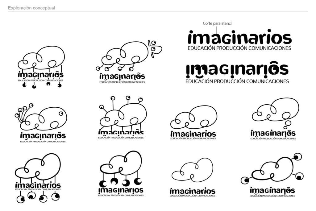imaginarios exploracion conceptual 1024x684 - Rediseño identidad visual de Imaginarios
