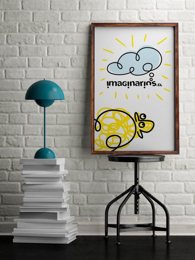 imaginarios poster 768x1024 - Rediseño identidad visual de Imaginarios