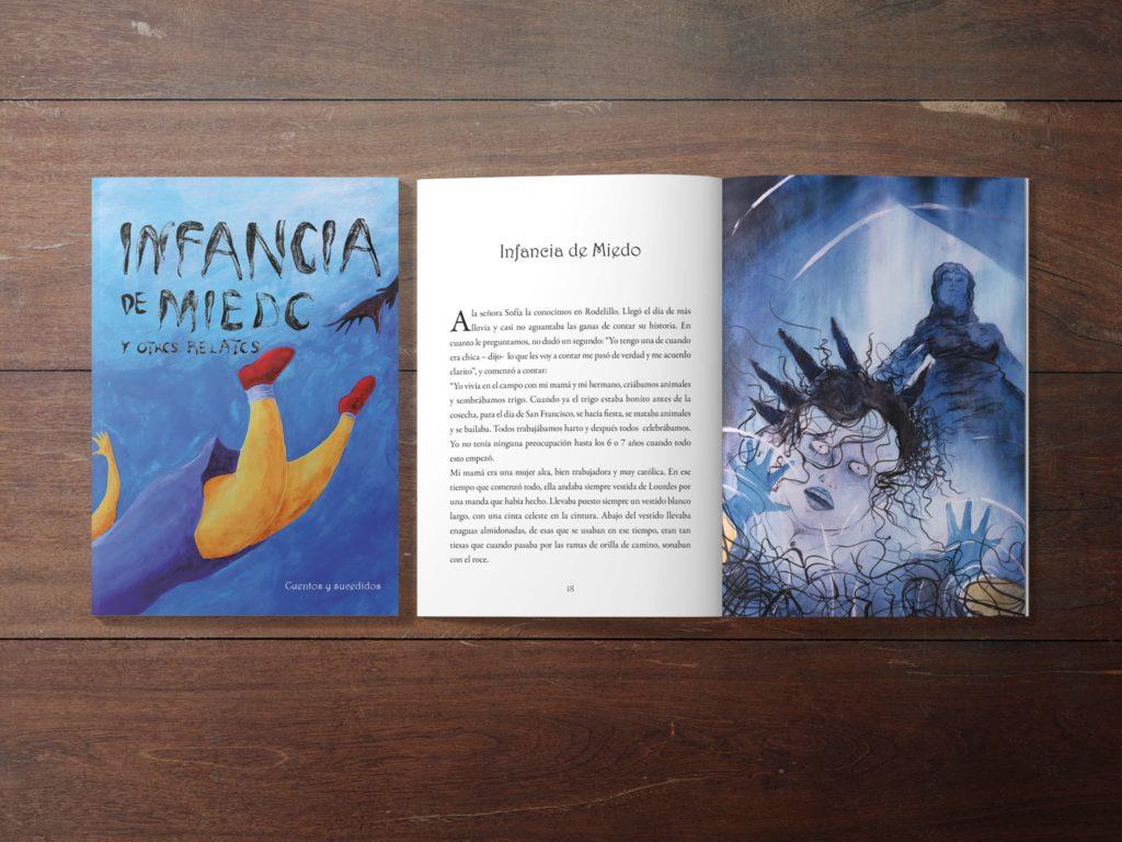 infancia de miedo michael contreras cortes 1024x768 - Libro: Infancia de miedo y otros relatos