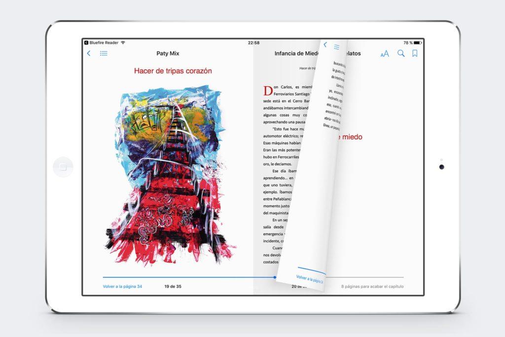 pagina 01 infancia de miedo michael contreras cortes 1024x683 - Libro digital infancia de miedo y otros relatos
