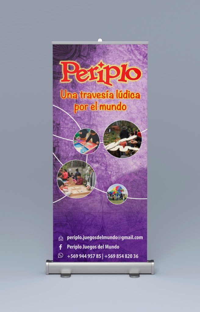 pendon periplo 656x1024 - Afiches carteles diversos