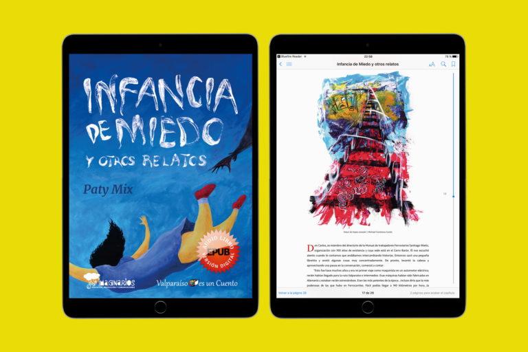 Lee más sobre el artículo Libro digital infancia de miedo y otros relatos