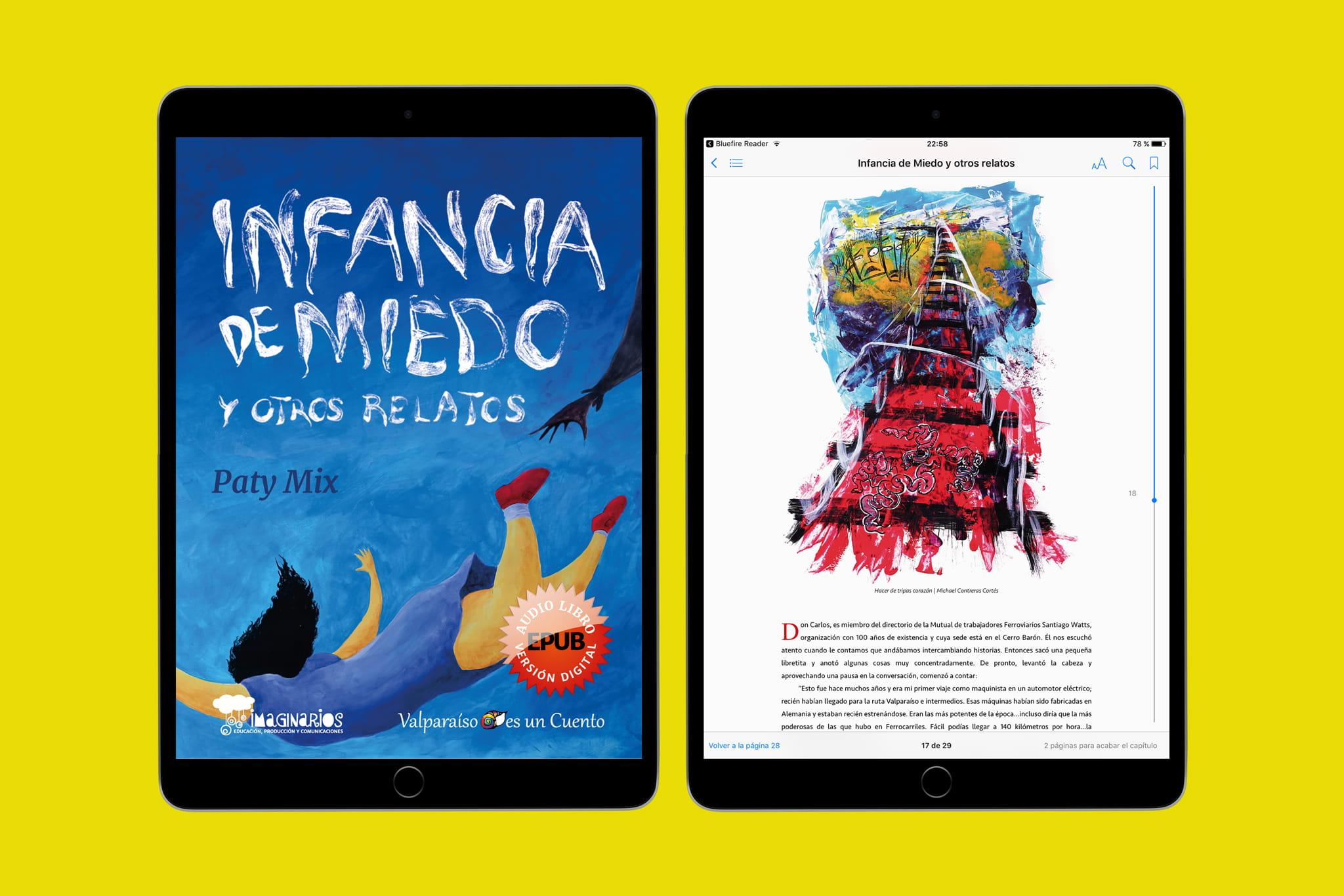 En este momento estás viendo Libro digital infancia de miedo y otros relatos