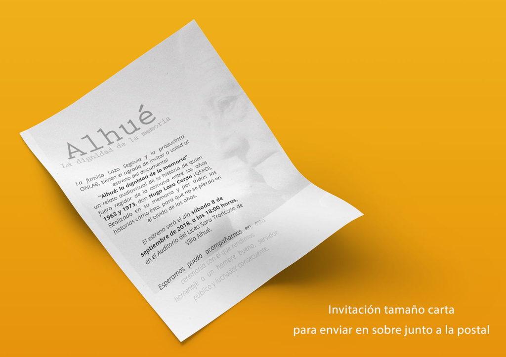 invitacion muestra 1024x723 - Documental Alhué